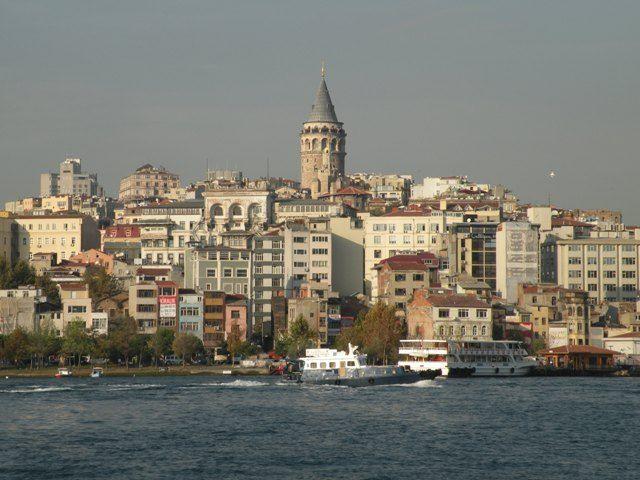Nice view of Galata - Istanbul, Turkey