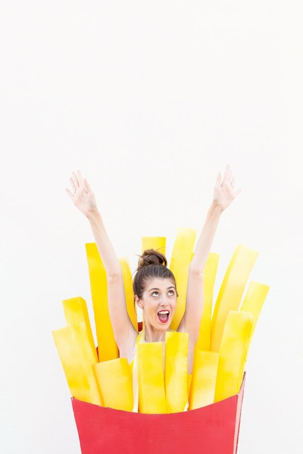 DIY Fries (Before Guys!) Costume | studiodiy.com