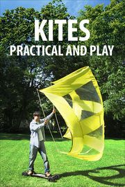 Kites, Practical and Play | http://paperloveanddreams.com/book/409022840/kites-practical-and-play | Kites, Practical and Play gives you full step-by-step instructions for 18 amazing kites, kite-powered vehicles, and accessories. Learn how to make a box kite, a fire kite, a hand-held skating and snowboarding sail, a kiteboarding bar, sand and ice kite buggies, and even how to do kite aerial photography! All projects come from Instructables.com, are written by kiting experts, and contain…