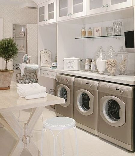 Lovely #Laundry Rooms - Fina Designs