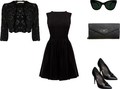 All black fashion.