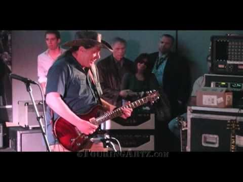 """Ted Nugent performing """"Stranglehold"""" live at NAMM 2010 for PRS Guitars"""