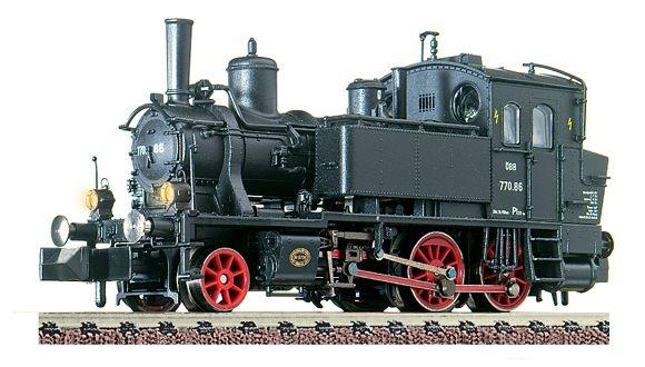 Dampflokomotive Reihe 770 der ÖBB.