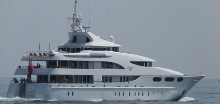 John Caudwell's yacht Capri