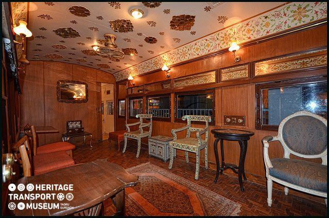 The lovely interiors of the colonial railway of the museum!  #colonial #railway #htm :)