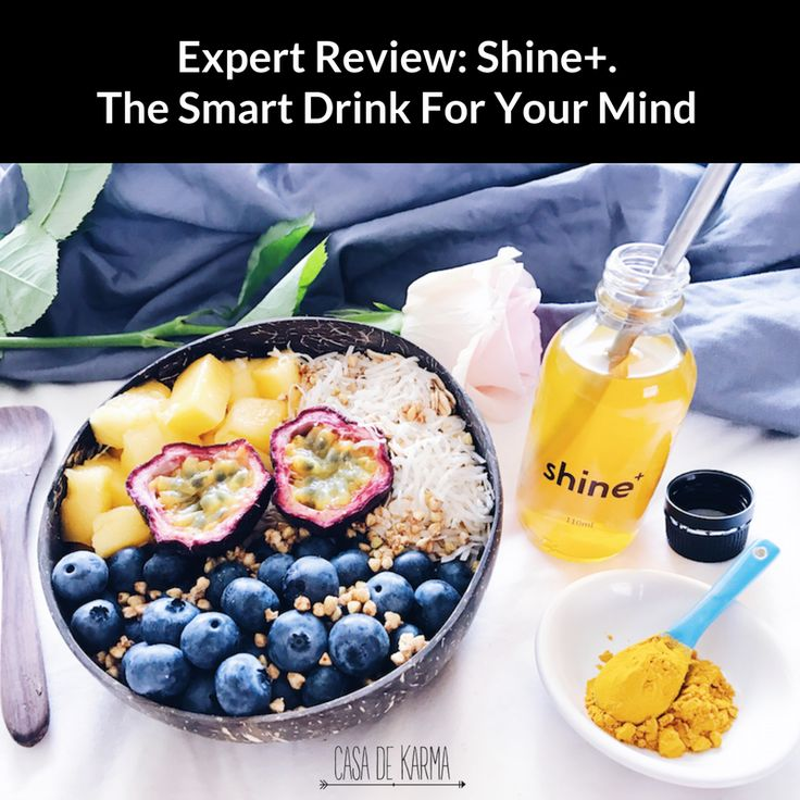 Shine+ has been developed with ingredients shown to enhance mental function and focus. It's essentially a healthy energy drink for your mind.  Our resident Doctor of Chinese Medicine, Naturopath and Wellness Coach share their thoughts on Shine+ Australia's first 'smart drink'. Each review includes thoughts on taste, performance and effect, ingredients and who they'd recommend it to. Read the reviews here: http://bit.ly/2uzTBn4