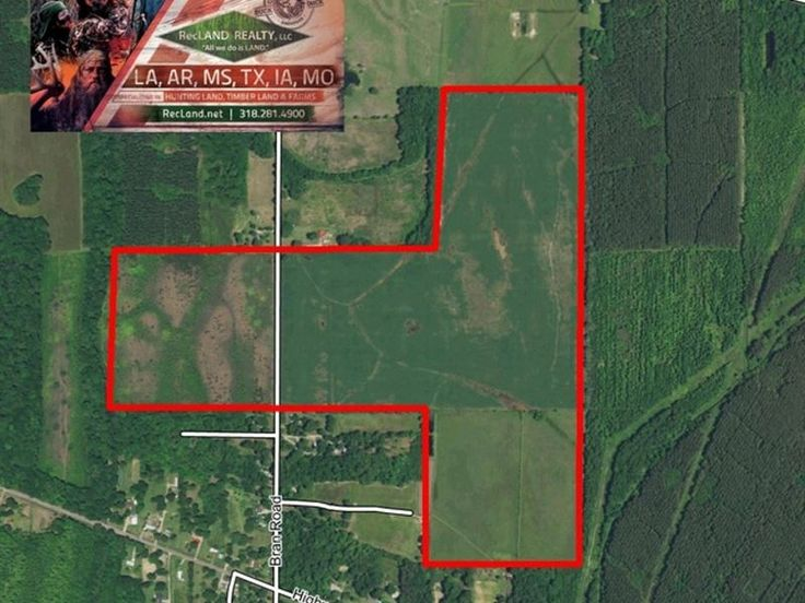 200 AC - IRRIGATED FARM LAND IN #LOUISIANA. #Land For Sale by PAT PORTER w/ RECLAND REALTY, LLC. -LANDFLIP.com #realestate #farmland #agriculture