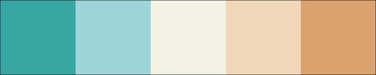 "Ansehen ""summerocean"". #AdobeColor https://color.adobe.com/de/summerocean-color-theme-6589970/"