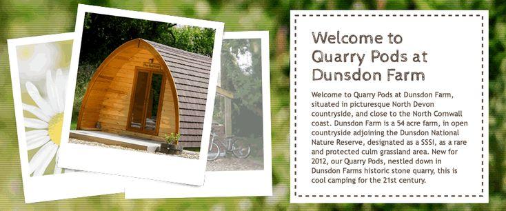 Luxury camping in North Devon!
