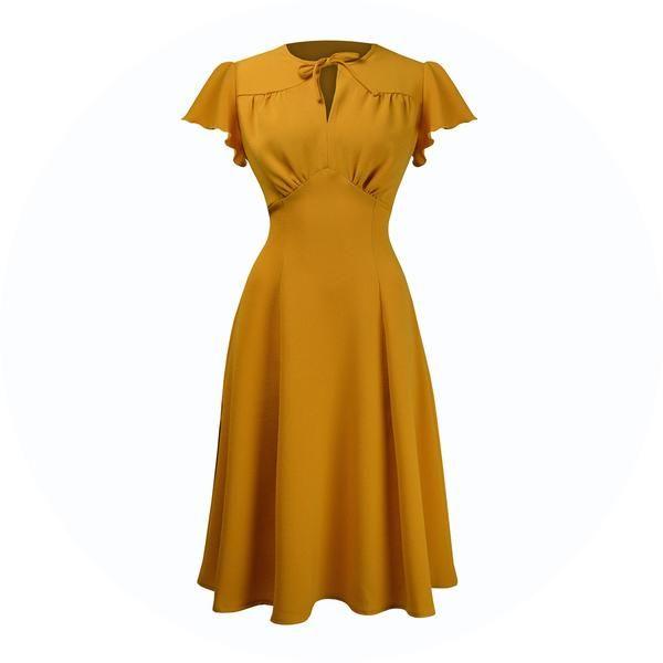 1940s Dresses UK Made Vintage Style