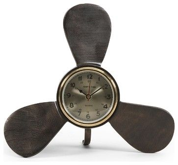 iMax Tidus Clock contemporary-desk-and-mantel-clocks