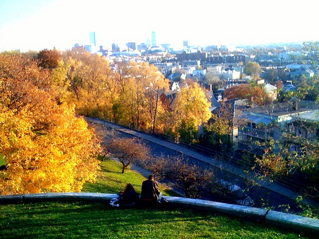 View of Boston from Prospect Hill