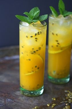 Passion fruit mojito, a recipe on Food52
