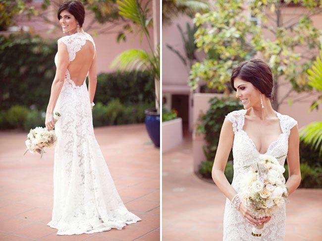 lace wedding dress: Lace Weddings, Wedding Dressses, Lace Wedding Dresses, Backless Wedding Gowns, Backless Dresses, Dreams Dresses, The Dresses, Lace Dresses, Open Back