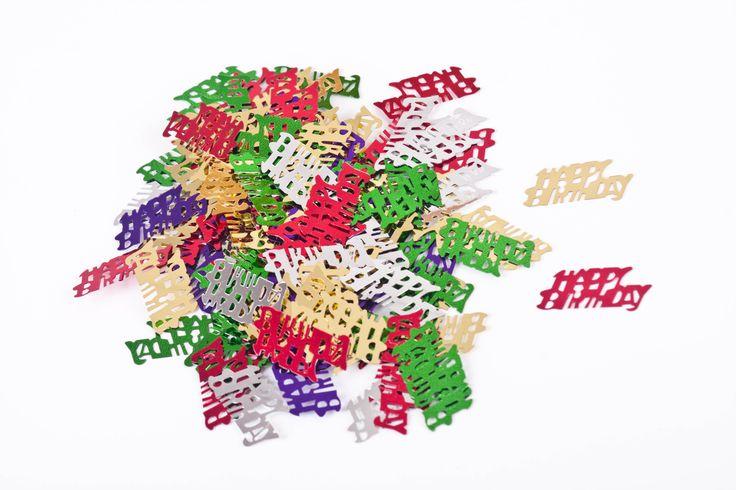 Stellar Party Happy Birthday Confetti