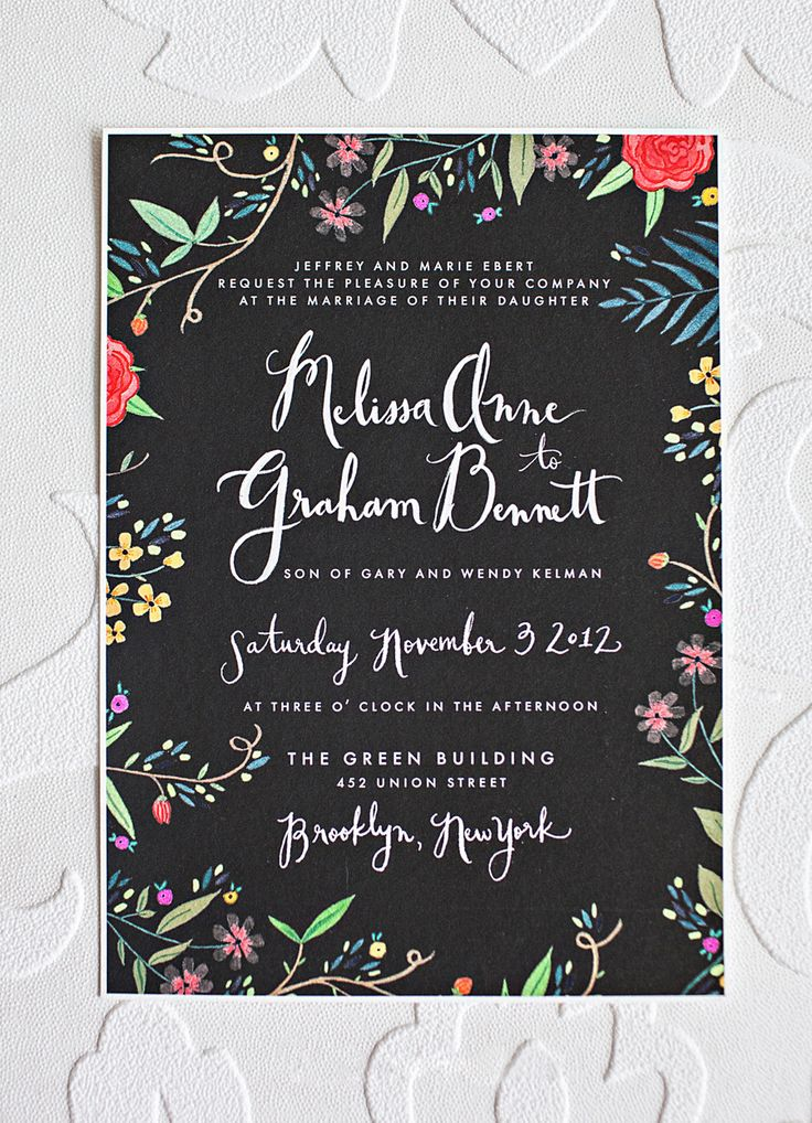 beautiful invite via @Karen Jacot Jacot Darling Me Pretty