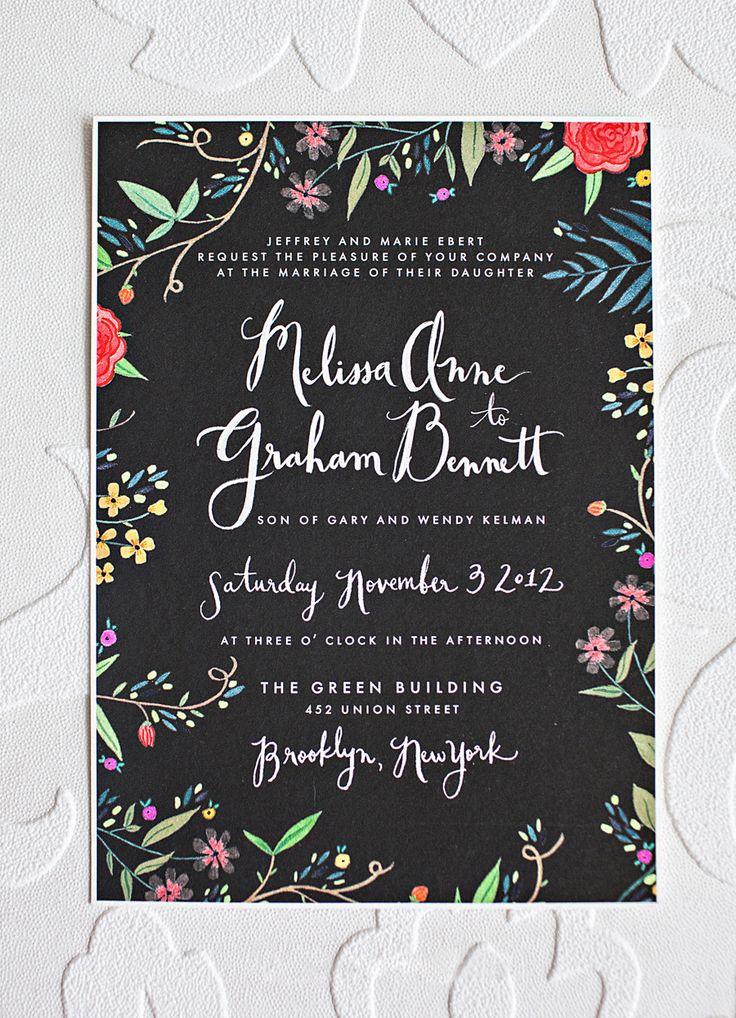 beautiful invite via @Karen Jacot Jacot Darling Me Pretty