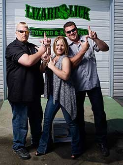 "Lizard lick towing.  Ronnie's Rhymes and phrases are quite entertaining.  one of my favorites- ""was like tryna put lipstick on a chick'n!"""