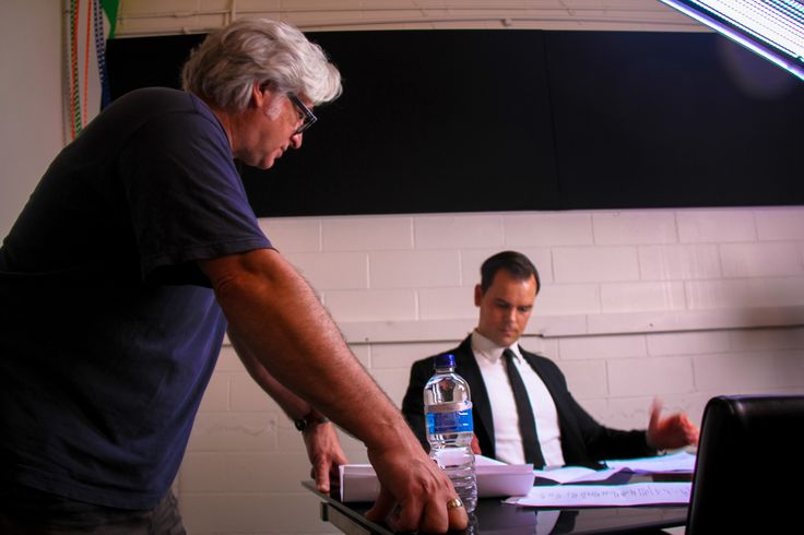 Power and Prophet - Director Nick Bufalo and actor, Michele Mattiuzzi. Stills by Craig Delahoy