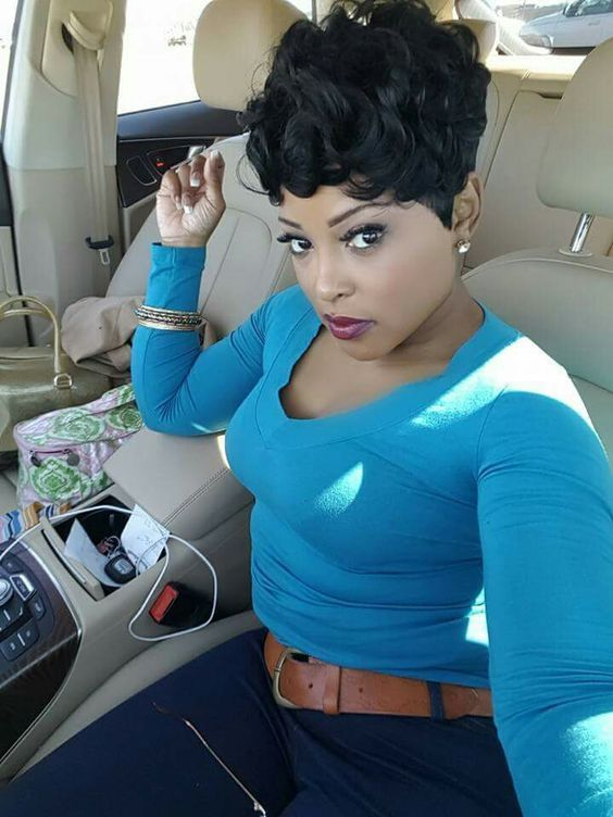 Short curly hairstyles wigs for african american women ❤ BUY THIS WIG NOW: http://www.wigsfor-blackwomen.com/h-pd-427-115_580.html fantastic human hair wigs