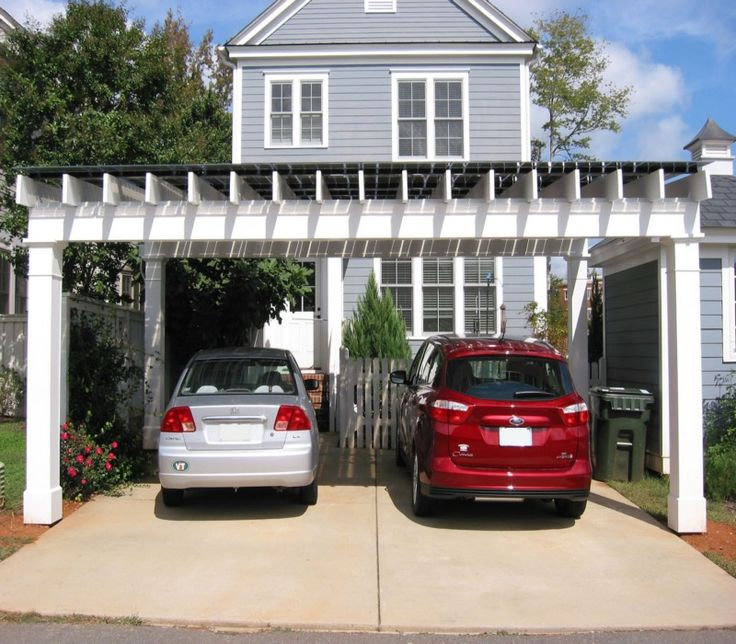 20 Modern Attached Garage Design Ideas With Pictures: 45 Best Garage Pergola And Gazebo Ideas Images On Pinterest
