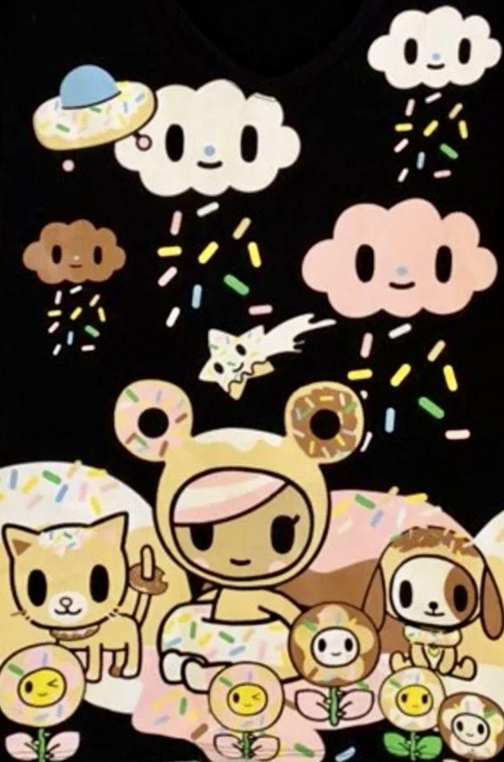 Tokidoki Donutella Kawaii Wallpaper Tokidoki Characters Tokidoki