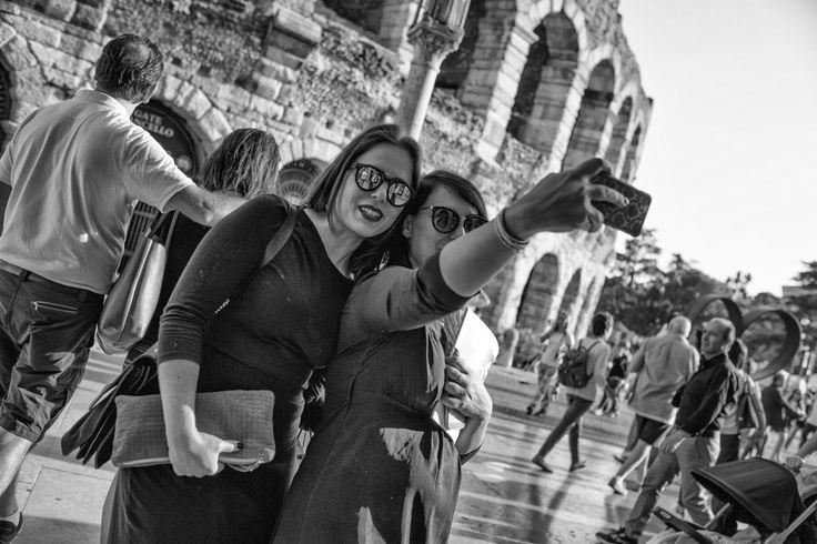 Selfie @ Piazza Brà