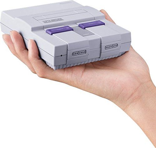 Nintendo Super NES Mini console https://www.amazon.com/Super-NES-Classic/dp/B0721GGGS9/ref=as_li_ss_tl?ie=UTF8&qid=1498615732&sr=8-4&keywords=super+nes+classic&linkCode=ll1&tag=mypintrest-20&linkId=6bb408fec32834ac33912f47b4fe368f