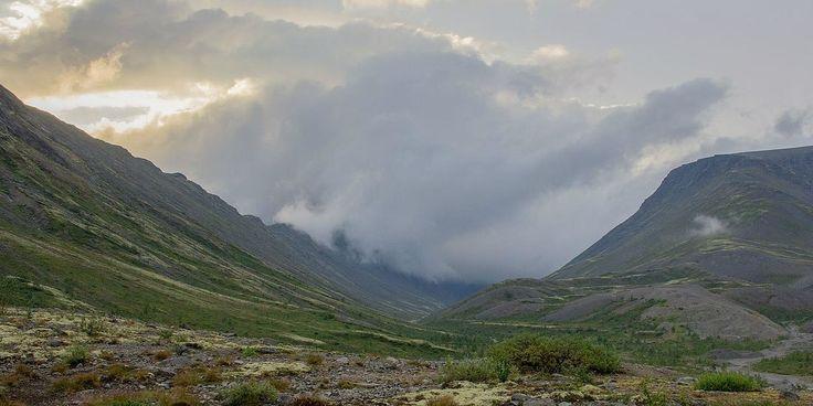 Долины Хибин. Кольский полуостров. Россия