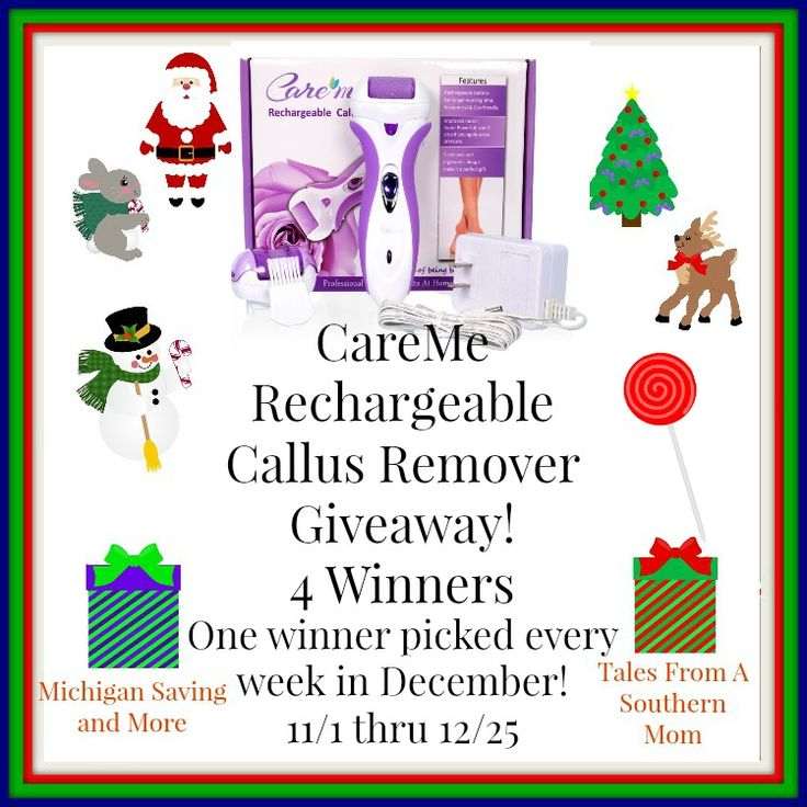 Care Me Rechargeable Callus Remover #Giveaway (12/25 US)