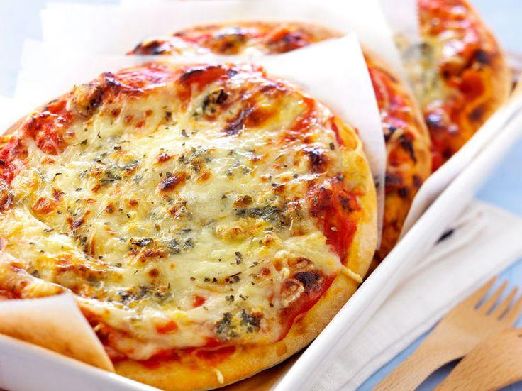 Pizza aux 4 fromages, facile et pas cher