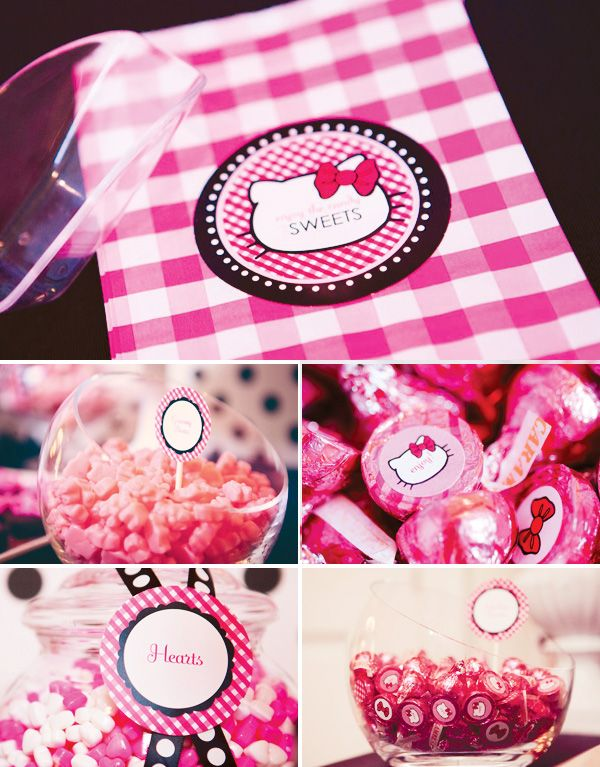 Gorgeous Glam Pink Hello Kitty Party // Hostess with the Mostess®