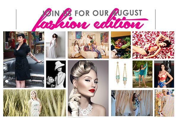 Advertise in our August Fashion