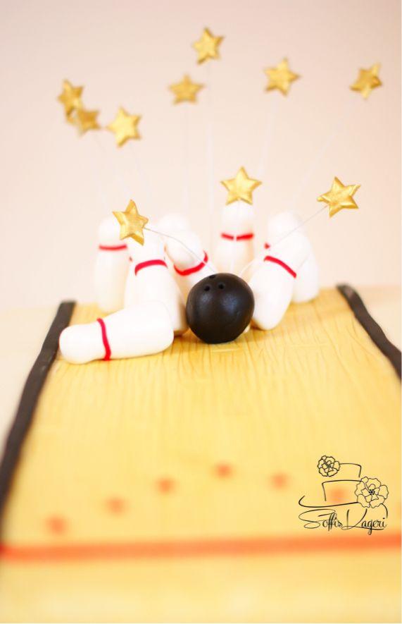 Bowling cake Soffi's Kageri