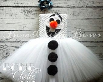 Frozen Anna TuTu Dress by BombChelleBows on Etsy