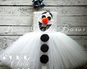 Frozen Anna TuTu Dress by BombChelleBows on Etsy