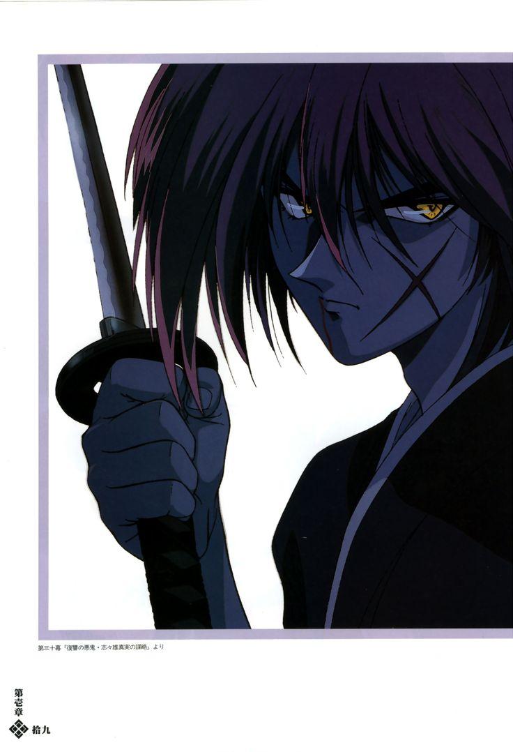 Rurouni Kenshin Samurai X #anime #animeotaku #otaku #anime art #otakue art #animemanga #manga #rurounikenshin #rurouni_kenshin #samuraix #samurai_x #rurounikenshinart #kenshinartbook #rurounikenshiartbook #samuraixartbook #himurakenshin