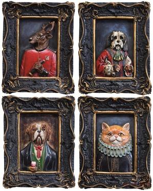 Picture Gentleman Animals 18x22 Assorted
