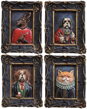 Picture Gentleman Animals 18x22 Assorted