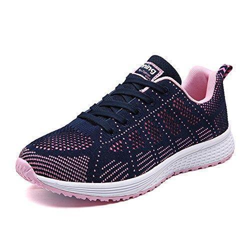 Oferta: 23.98€. Comprar Ofertas de UMmaid Mujer Zapatos Deportivos Plano Zapatillas de Running Deportes para Mujer Gimnasio Correr 39 EU Azul oscuro barato. ¡Mira las ofertas!
