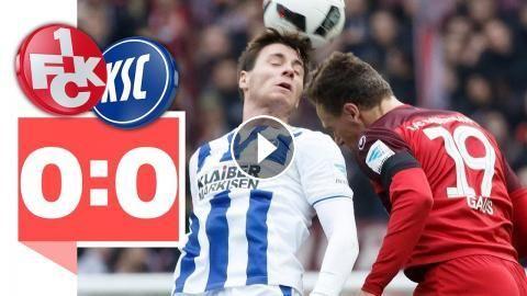 1. FC Kaiserslautern - Karlsruher SC – 0:0 - Tor-Klau ärgert Lautern!: Tor-Klau ärgert Lautern! 1. FC Kaiserslautern - Karlsruher SC – 0:0…