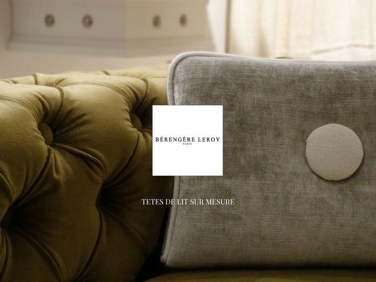 les 24 meilleures images propos de t tes de lit sur mesure sur pinterest fait sur mesure. Black Bedroom Furniture Sets. Home Design Ideas