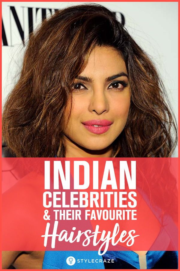 8 Indian Celebrities And Their Favourite Hairstyles Hairstyles For