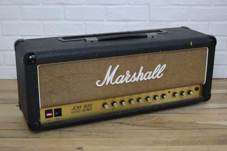 Marshall JCM800 vintage tube guitar amp head-used amplifier for sale