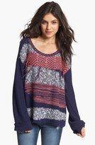 Shirts and Sweaters for Juniors | ... -girls-sweaters-fringe-pattern-sweater-juniors-mena-black-large.jpg