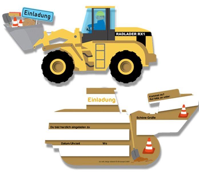 Kindergeburtstag Baustelle