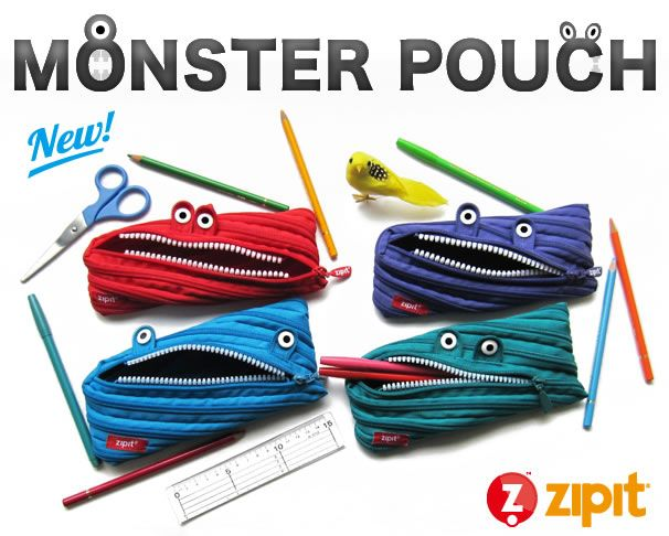 zipit,monster,pouch,モンスター