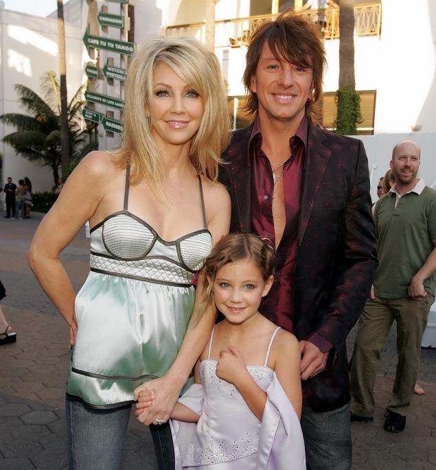 Richie Sambora and Heather Locklear | ... Heather Locklear and Richie Samboras daughter Ava .... People always