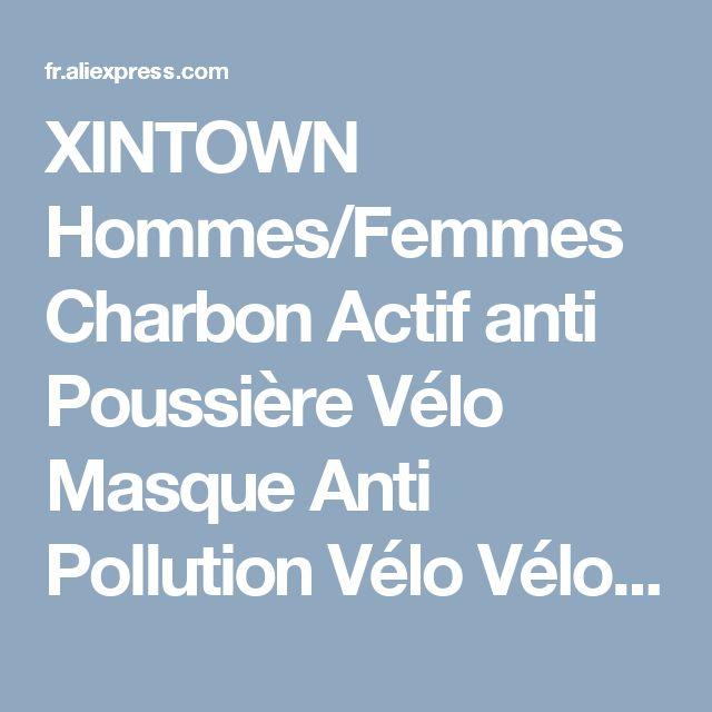 XINTOWN Hommes/Femmes Charbon Actif anti Poussière Vélo Masque Anti Pollution Vélo Vélo En Plein Air Formation masque visage bouclier dans Vélo masque de Sports & Entertainment sur AliExpress.com | Alibaba Group