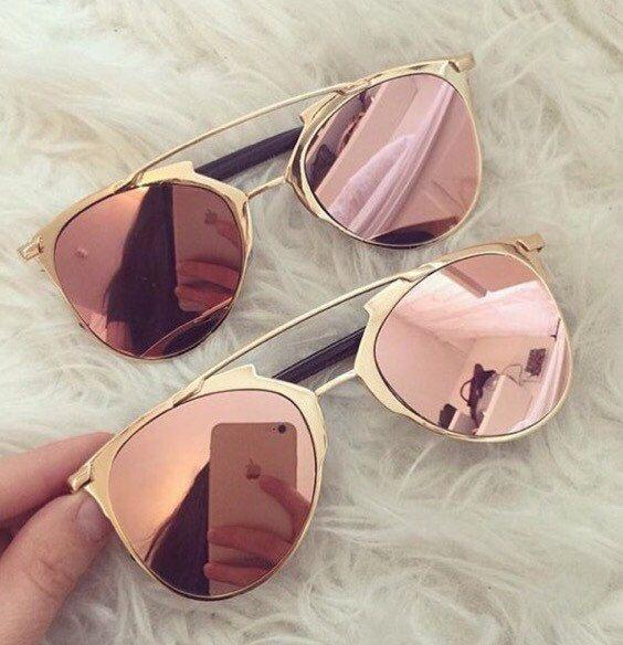Retro Sunglasses Cat Eye Sunglasses Reflective by TripleOGco